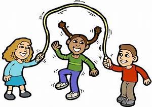 Clip Art - Clip art playing children 307555