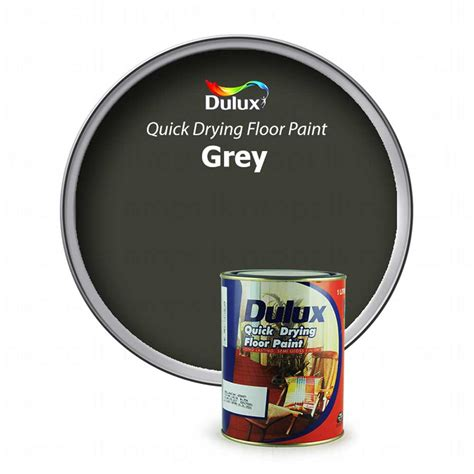 dulux floor quick drying qd floor paint grey nropslk