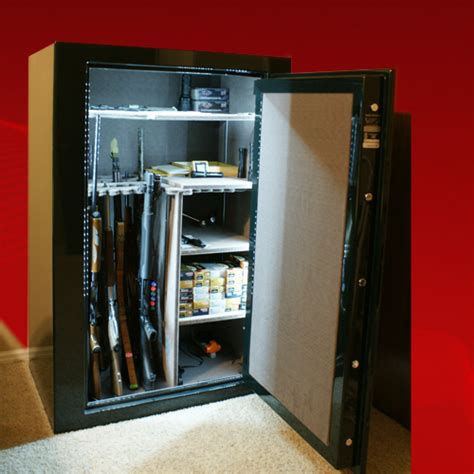 storage bed plans gun safe lights
