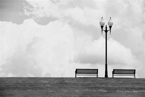 Black White Bench by Free Images Light Cloud Black And White Seat Wind