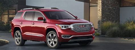 gmc acadia   tow package