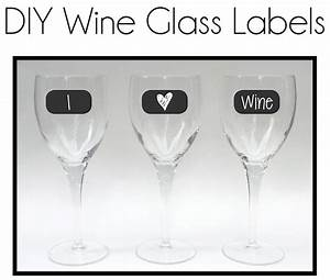 Diy Wine Glass Labels