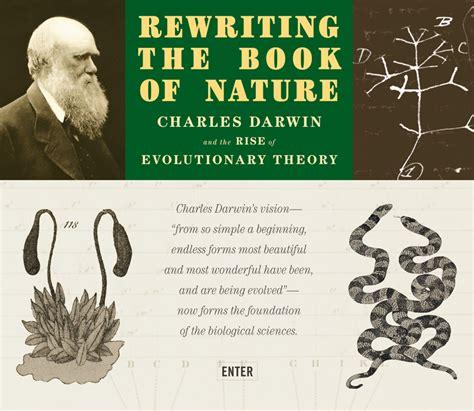 rewriting  book  nature charles darwin   rise