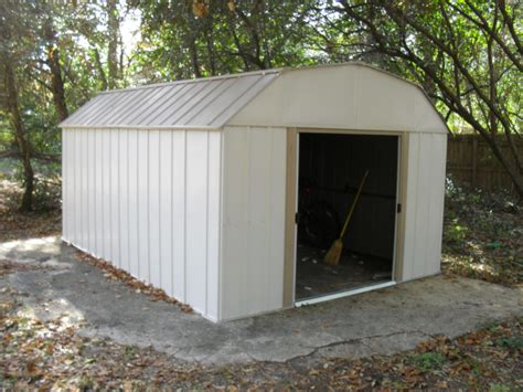 Arrow Galvanized Steel Storage Shed 10x12 by Lowes 10 X 12 Arrow Shed Learn How Shedolla