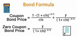 Annual Payment Formula Bond Formula How To Calculate A Bond Examples With