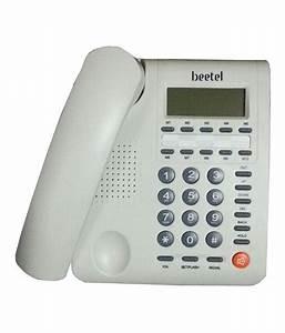 Buy Beetel M59 Corded Landline Phone ( White ) Online at ...
