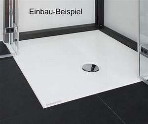Barrierefreie Dusche Nachträglicher Einbau : duschwanne flach einbauen ~ Michelbontemps.com Haus und Dekorationen