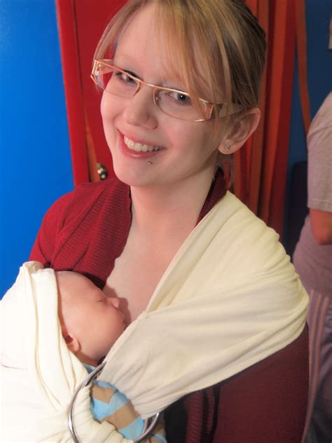 Babywearing A Newborn Dirty Diaper Laundry