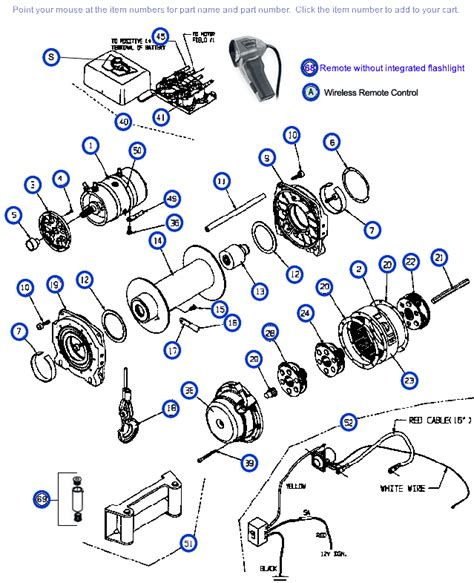 order genuine oem replacement parts for your ce m12000 12 000 lb winch replacement parts from