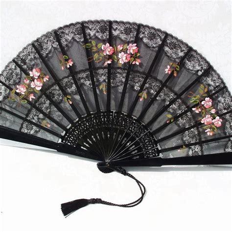 hand fan frame folding fans silk folding fan victorian decor by whimzythyme