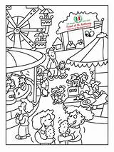 Feast Contest Coloring Able Access sketch template