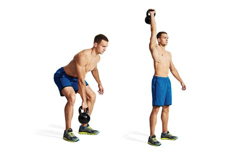 snatch kettlebell arm dumbbell workout hronec christine exercise muscle form proper training spotlight fitness tips