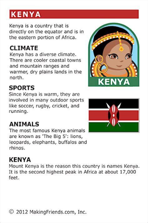 facts  kenya makingfriendsmakingfriends