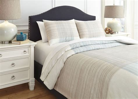 Blue And Brown Duvet Cover jenae blue and brown king duvet cover set q346023k