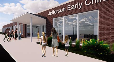 construction starts on jefferson early childhood center in 460 | JeffersonEarlyChildhoodCenter Groundbreaking