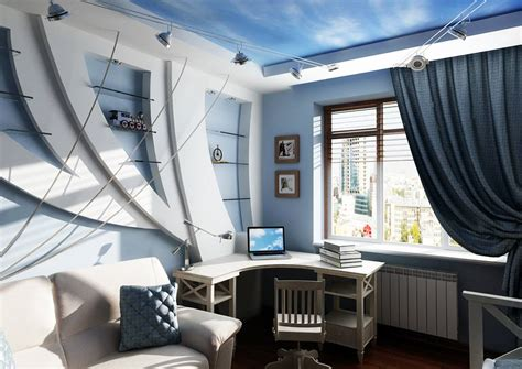 How To Make Design Of A Room In Marine Style For Boys