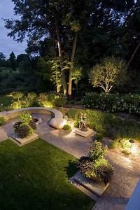 Eclairage Jardin. eclairage ext rieur led image de maison 3d image ...