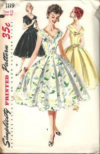 Simplicity Vintage Dress Sewing Pattern
