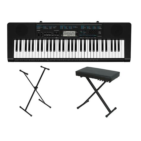 keyboard stand and bench casio ctk 2300 61 key portable keyboard w stand and bench
