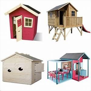 Cabane Bois Pas Cher : cabane ou maisonnette bois enfant comparer les prix avec ~ Melissatoandfro.com Idées de Décoration