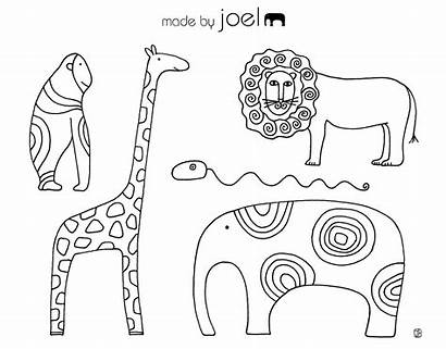 Coloring Sheets Animal Sheet Number Fun Colouring