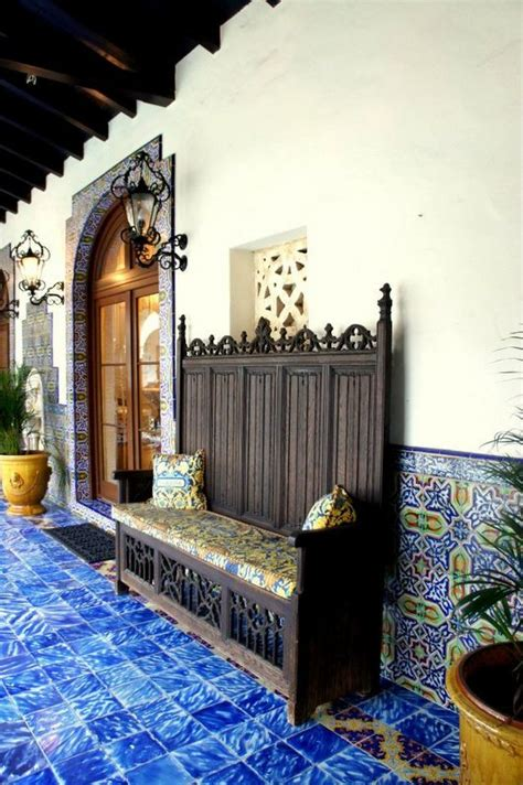 eye  design decorating   spanish colonial style