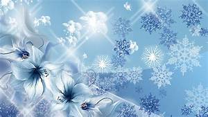 Blue Snowflake Wallpapers Hd Download