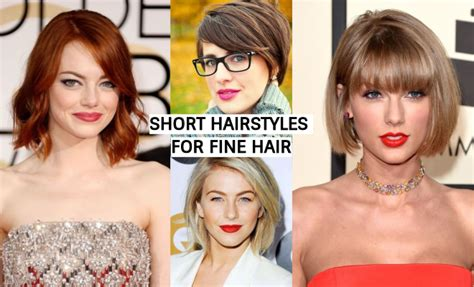 The Best 33 Short Hairstyles For Fine Hair