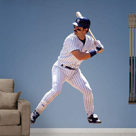 life size don mattingly wall decal shop fathead for new york yankees decor