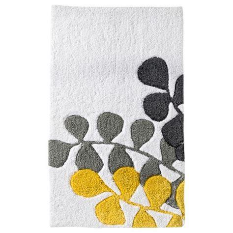 room essentials vine bath rug gray yellow 20 target