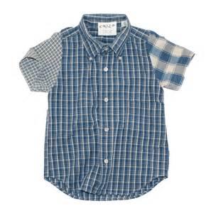 sustainable boys button down shirts by kallio brooklyn