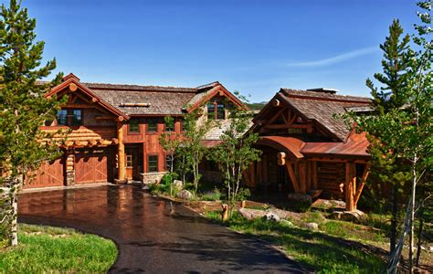 big sky homes published nationally teton heritage builders