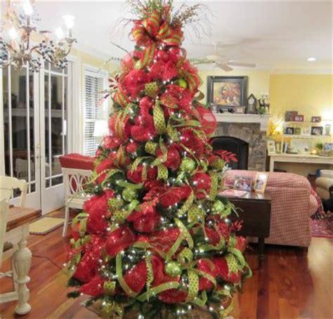 ideas  mesh christmas tree  pinterest deco