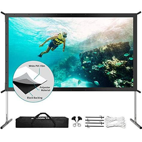 The 7 Best Outdoor Projector Screens 2020 Reviews