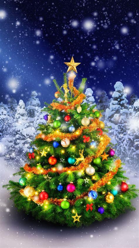 wallpaper christmas tree spruce trees decoration