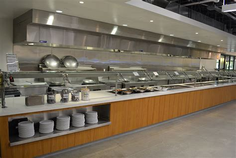 commercial kitchen ventilation hood  front air supply
