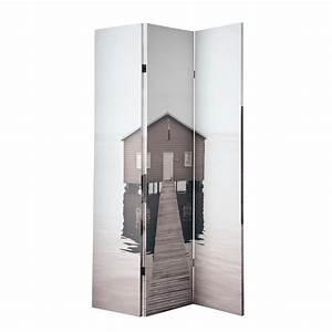 Raumteiler 120 Cm Breit : raumteiler sea side bedruckt aus holz b 120 cm maisons du monde ~ Bigdaddyawards.com Haus und Dekorationen