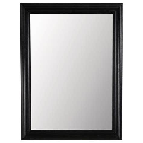 miroir personnalise avec photo miroir napoli noir 120x90 maisons du monde