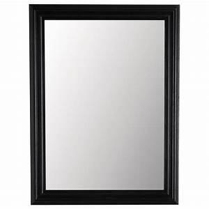 Miroir Industriel Ikea : miroir napoli noir 120x90 maisons du monde ~ Teatrodelosmanantiales.com Idées de Décoration