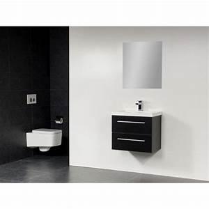 Meuble Salle De Bain Peu Profond : saniclass xs line meuble salle de bain avec miroir peu ~ Edinachiropracticcenter.com Idées de Décoration
