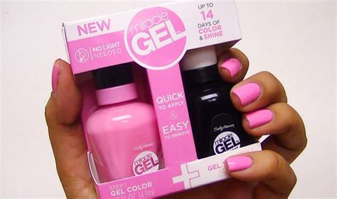 Sally Hansen Miracle Gel In Pink Cadillaquer