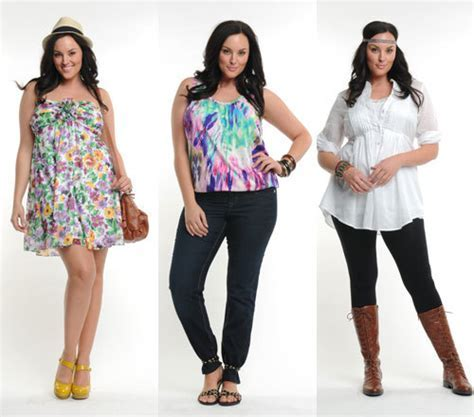 Clothes and Tips for the Full Figured Woman