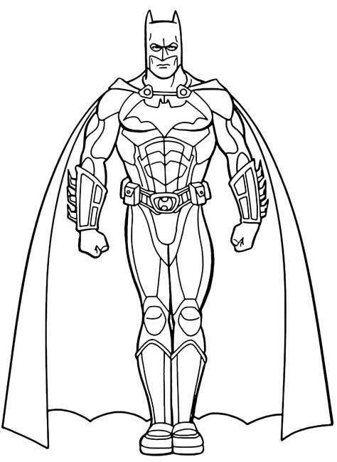 disegni da col batman col mantello disegni da colorare disegni da