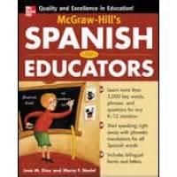 McGraw-Hill's Spanish for Educators (Book)