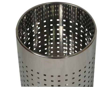 probbax  waste basket  mirror stainless steel