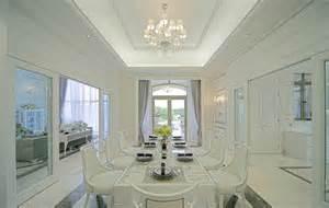 European Home Interior Design European Style Villa Minimalist Dining Room Interior Design 3d House