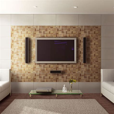 chic living room wall tiles best 25 living room wall tiles