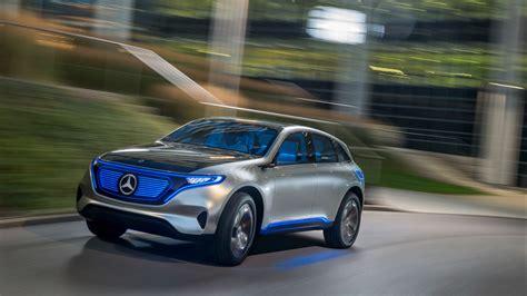 wallpaper mercedes benz eqc suv  cars electric car