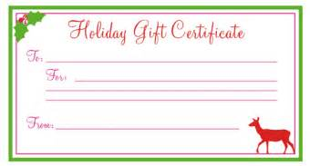 free printable christmas gift certificates new calendar template site