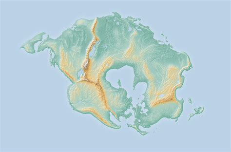 meet supercontinent pangaea proximain  million years